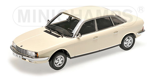 NSU Ro80 1972 (White) by minichamps