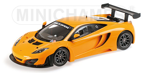 McLaren 12C GT3 Street  2013 (Orange) by minichamps