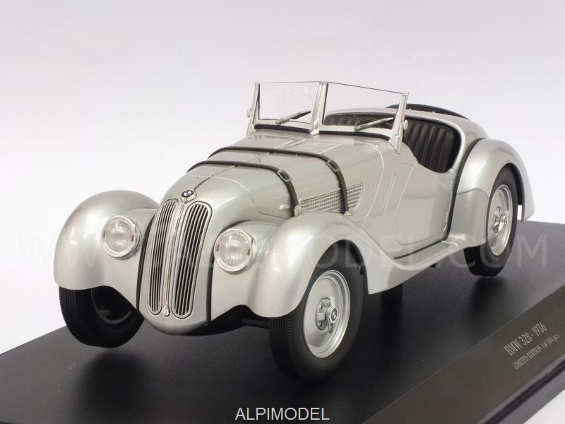 BMW 328 1936 (Silver) by minichamps