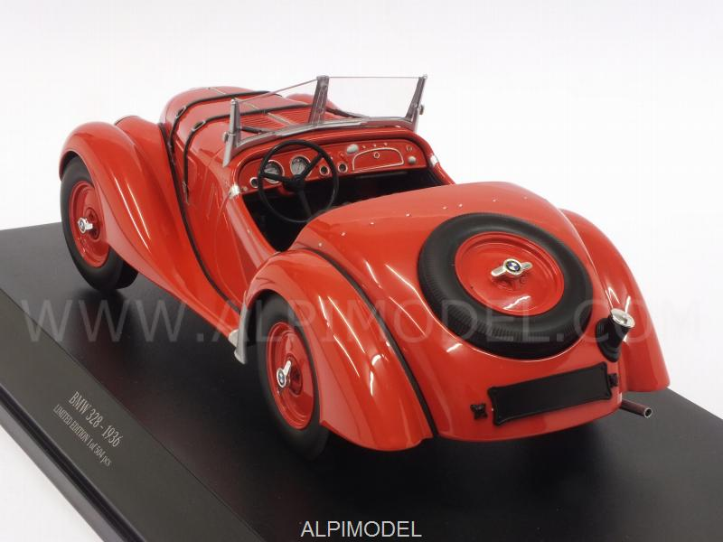 BMW 328 1936 (Red) - minichamps