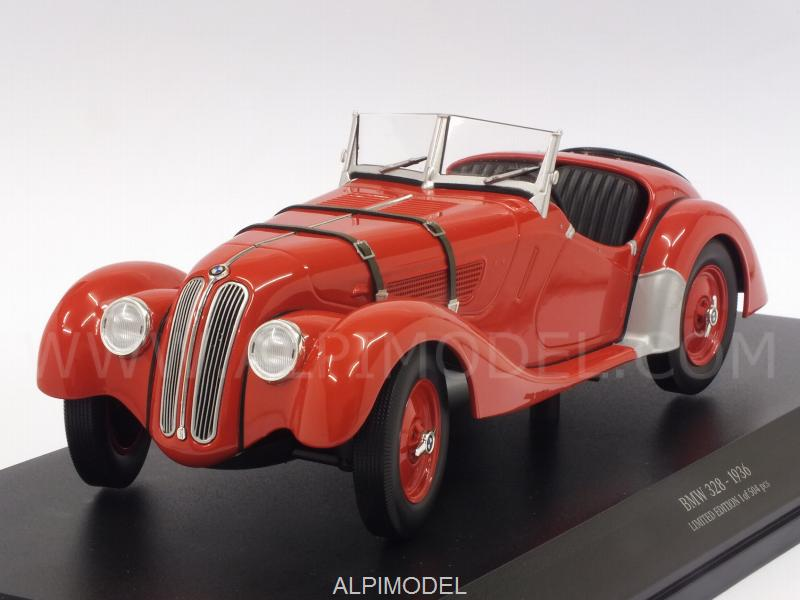 BMW 328 1936 (Red) by minichamps