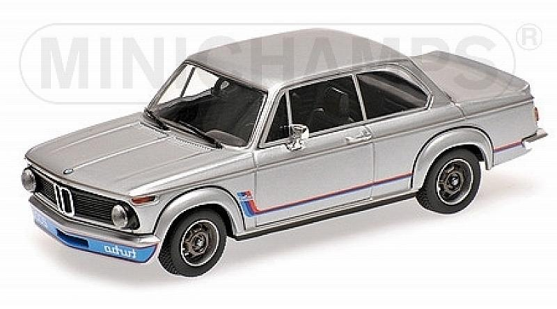 BMW 2002 Turbo 1973 (Silver) by minichamps
