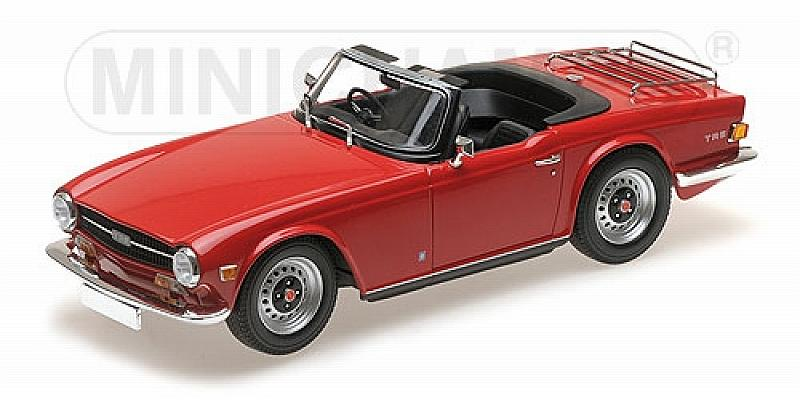 Triumph TR6 1969 (Red) by minichamps