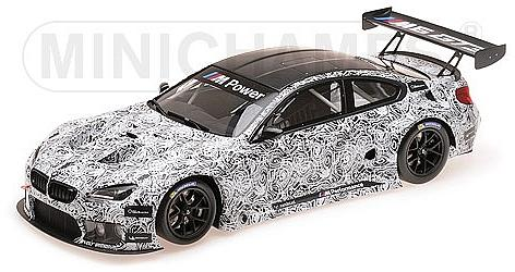 BMW M6 GT3 2015 by minichamps