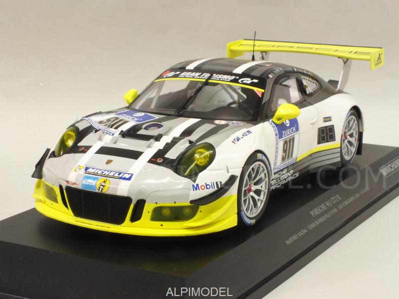 Porsche 911 GT3-R Manthey Racing #911 24h Nurburgring 2016 Tandy - Bamber - Pilet - Estre by minichamps