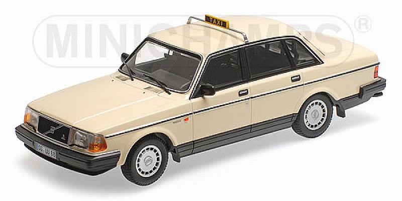 Volvo 240 GL 1986 Taxi Germany by minichamps