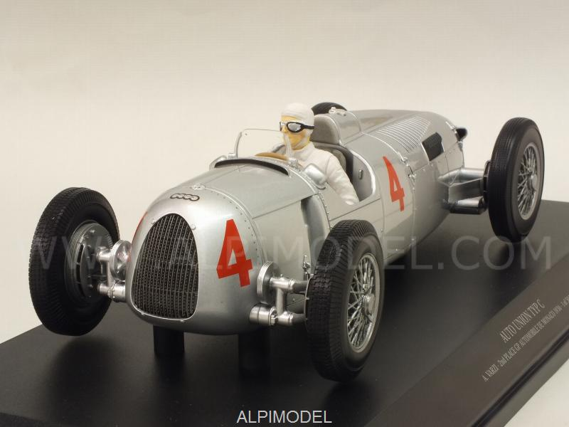 Auto Union Typ C #4 Grand Prix Automobile De Monaco 1936 Achille Varzi by minichamps