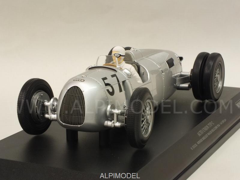 Auto Union Typ C #57 Winner Shelsley Walsh Hillclimb 1936 Hans Stuck by minichamps