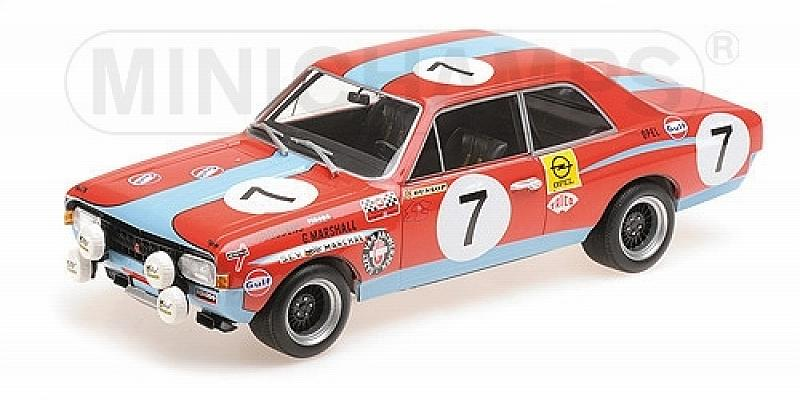 Opel Commodore A Gulf Steinmetz 24h Spa 1972 Joossens - Marshall by minichamps
