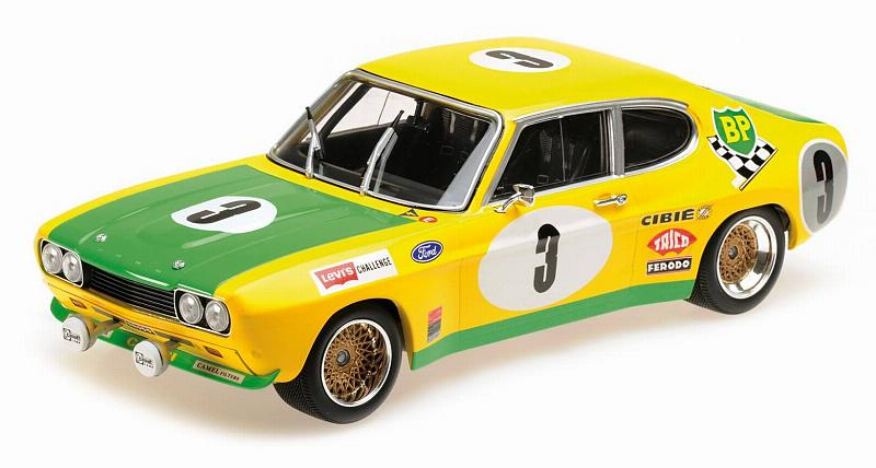 Ford Capri RS2600 BP Racing Team Birrel Bourgoignie Spa 1972 by minichamps