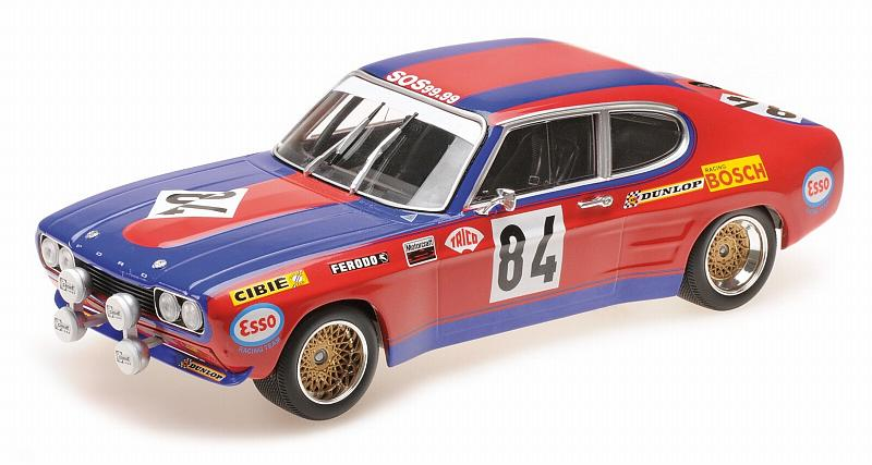 Ford Capri RS2600 Shark Team Le Mans 1972 Rouget Geurie by minichamps