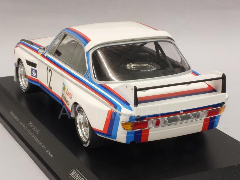 BMW 3.0 CSL Bmw Motorsport #12 Winner 6h Nurburgring 1973 Amon - Stuck - minichamps