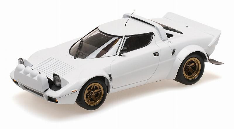Lancia Stratos 1974 (White) by minichamps