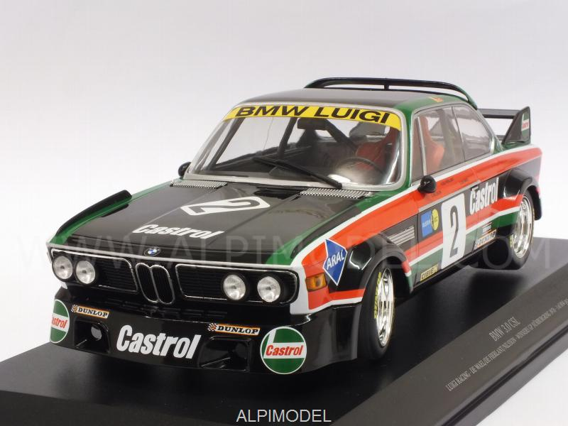 BMW 3.0 CSL Luigi Racing #2 Winner GP Nurburgring 1976 De Wael - De Fierlant - Nilsson by minichamps
