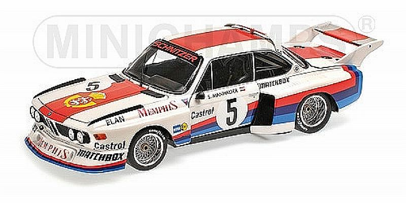BMW 3.5 CSL Winner Havirov International 1977 Sepp Manhalter by minichamps