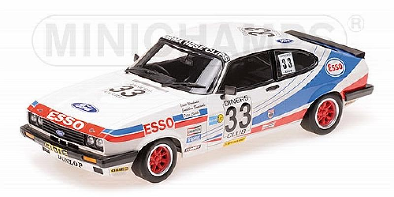 Ford Capri 3.0 Esso #33 Spa 1981 Clark - Woodman - Buncombe by minichamps