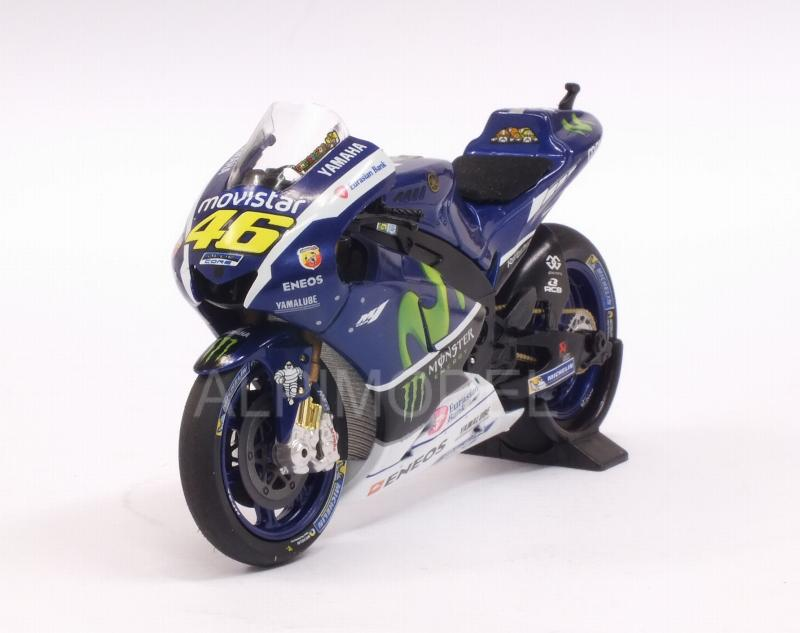 Yamaha YZR-M1 Movistar Testbike MotoGP 2016 Valentino Rossi by minichamps