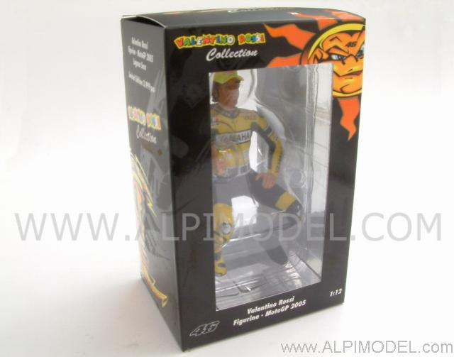 Valentino Rossi sitting figure GP Laguna Seca World Champion 2005 - minichamps