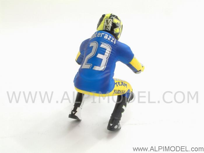 Valentino Rossi Riding Figure (Materazzi shirt) Winner GP Sachsenring 2006 - minichamps