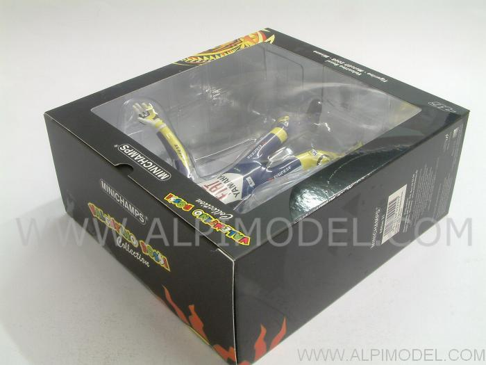 Valentino Rossi figurine World Champion MotoGP 2008 - minichamps