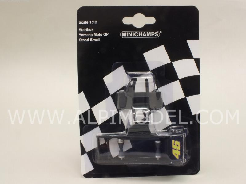 Startbox Yamaha GP narrow tyre by minichamps