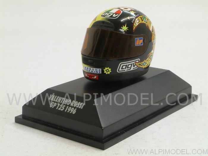 Minichamps 397960046 Casco Agv Valentino Rossi Gp 125 1996 1//8 Valentino Rossi Collection