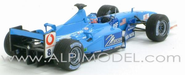 Benetton B201 Renault GP Indianapolis  2001 - Jenson Button - minichamps