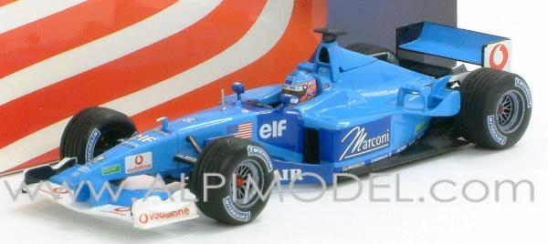 Benetton B201 Renault GP Indianapolis  2001 - Jenson Button by minichamps