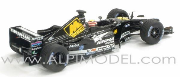 Minardi European PS01 2001 A. Yoong - minichamps