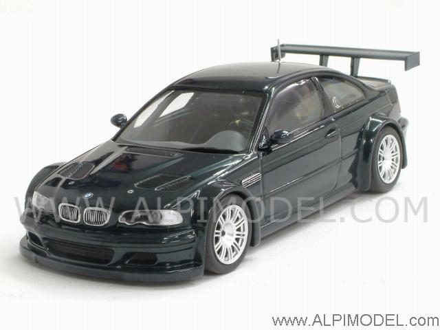 Minichamps 400012104 Bmw M3 Gtr Street 2001 Oxford Green Metallic 1 43