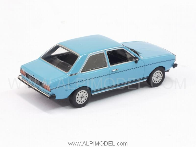 Minichamps Audi 80 Gt 1972 Miami Blue 1 43 Scale Model