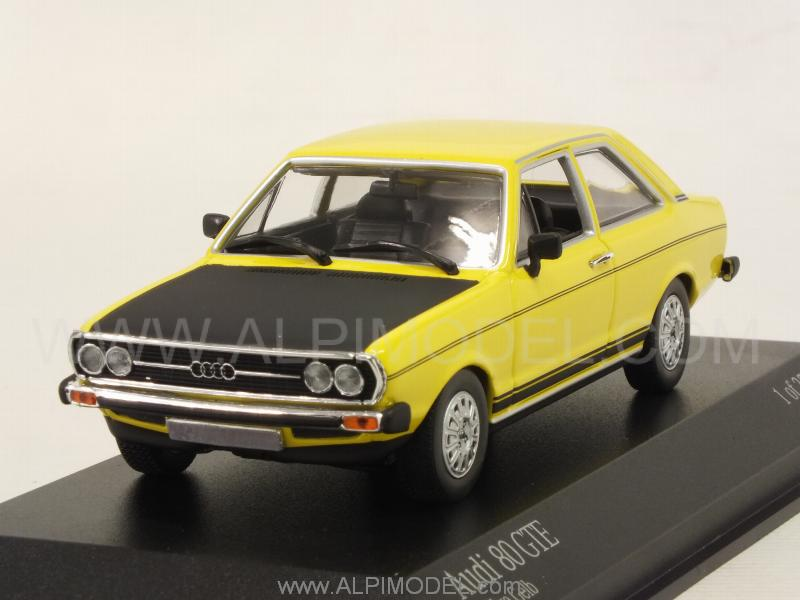 Audi 80 GTE 1975 (Rally Yellow) by minichamps