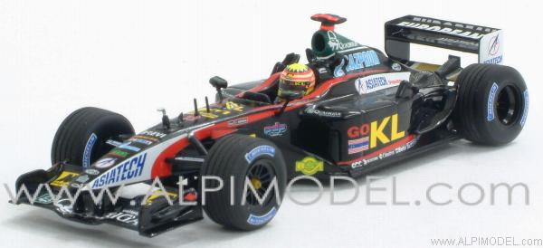 Minardi Asiatech KL PS02 Alex Yoong 2002 by minichamps