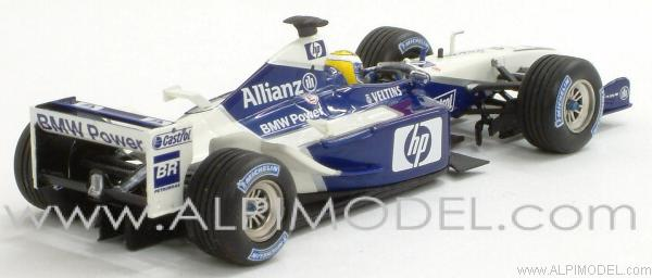 Williams BMW FW24 Test Barcelona December 3rd 2002 Nico Rosberg - minichamps
