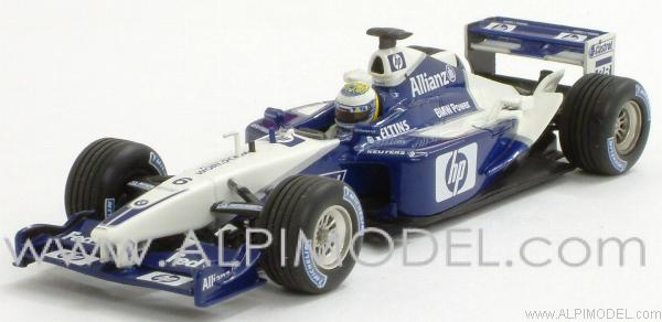 Williams BMW FW24 Test Barcelona December 3rd 2002 Nico Rosberg by minichamps