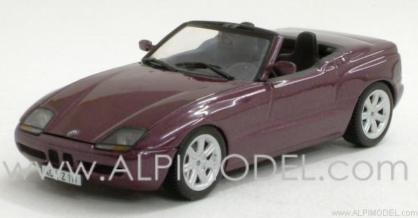 minichamps 400020101 bmw z1 1987 magic violet with engine details 1 43. Black Bedroom Furniture Sets. Home Design Ideas