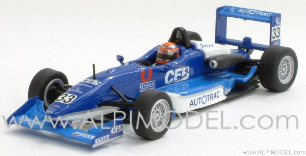Dallara Mugen Honda F301 - Nelson Angelo Piquet F3 South American Champion 2002 by minichamps