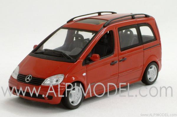 Mercedes Vaneo 2002 (Magma Red) by minichamps