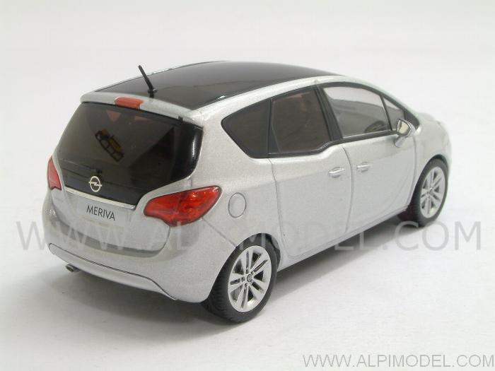 minichamps 400040000 opel meriva 2011 star silver 1 43. Black Bedroom Furniture Sets. Home Design Ideas