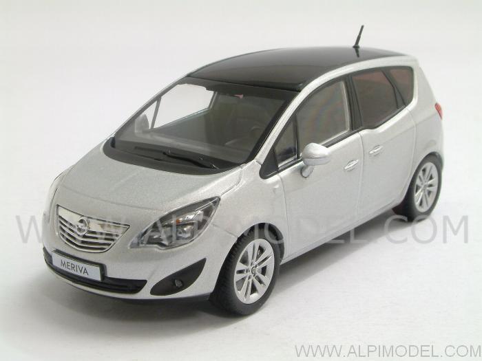 minichamps opel meriva 2011 star silver 1 43 scale model. Black Bedroom Furniture Sets. Home Design Ideas
