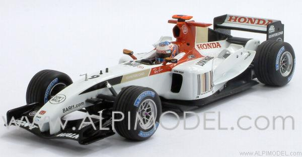 BAR 006 Honda Jenson Button 2004 by minichamps