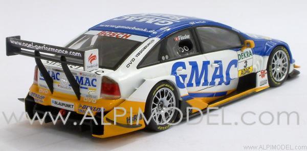 MINICHAMPS 400044403 Opel Vectra GTS V8 Gmac Bank Opc Team