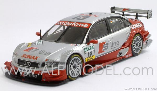 Audi A4 #19 Audi Sport Team Joest DTM 2005 - F.Stippler by minichamps