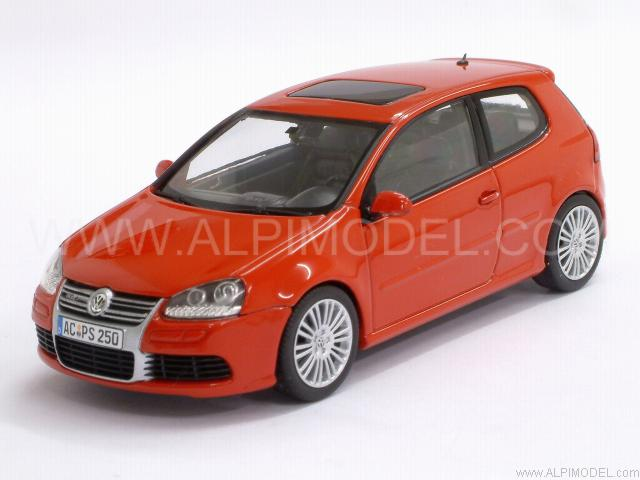 Minichamps 400054500 Volkswagen Golf R32 2005 Tornado Red 143