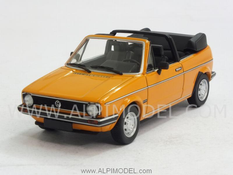 Volkswagen Golf Cabriolet Mk1 1980  (Mandarino Orange) by minichamps