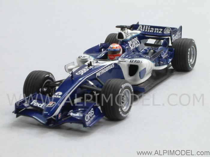 Williams F1 Test Debut 26 November 2006 Kazuki Nakajima by minichamps