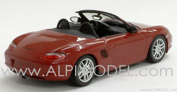 Porsche Boxster 2002 (Orient Red Metallic) - minichamps