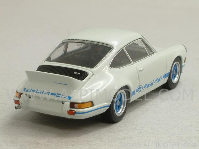 minichamps porsche 911 carrera rs 2 7 1972 grand prix white 1 43 scale model. Black Bedroom Furniture Sets. Home Design Ideas
