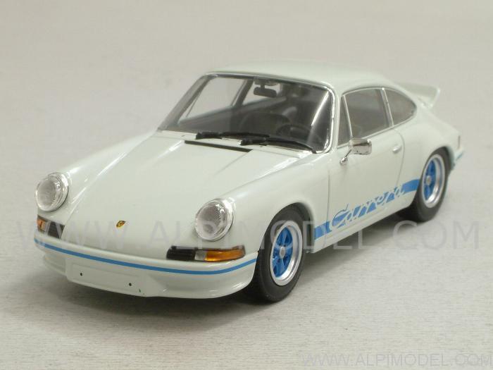 minichamps porsche 911 carrera rs 2 7 1972 grand prix white 1 43 scale model. Black Bedroom Furniture Sets. Home Design Ideas