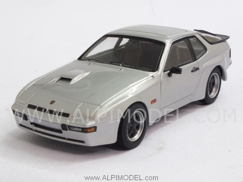 Porsche 924 Carrera GT 1981 (Diamant Silver) by minichamps